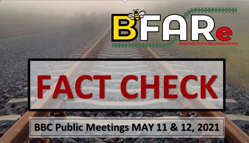 BFARe FACT CHECK the Bedford Borough Council Public Meetings
