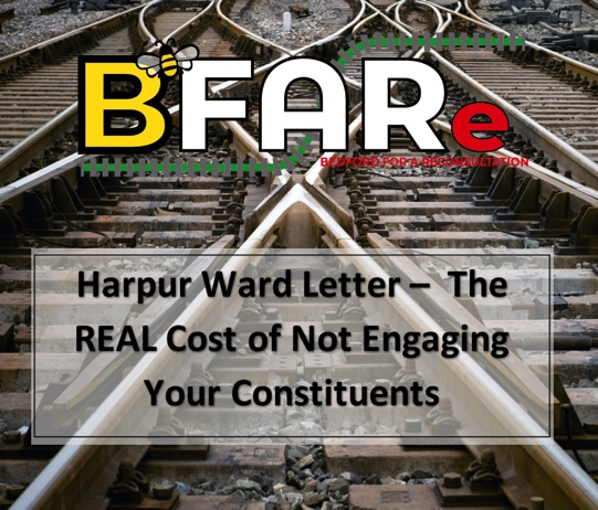 Harpur Ward Letter The REAL Cost of Not Engaging Your Constituents