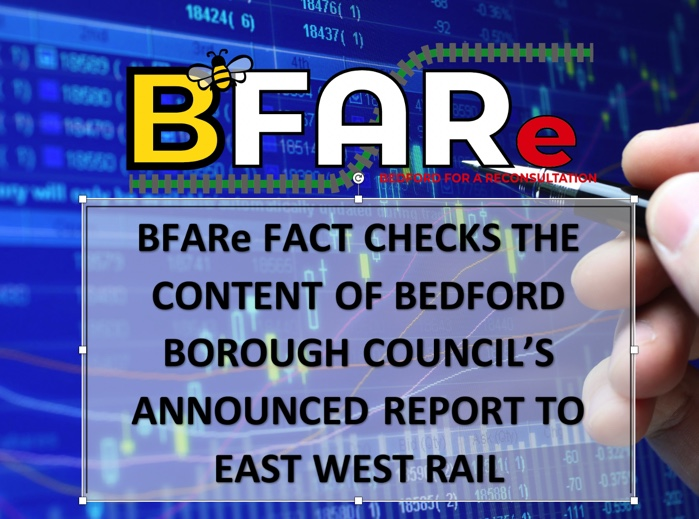 BFARe FACT CHECK: Council Announces Consultation Report to EWR will Seek to Maximise Benefits and Minimise Impacts